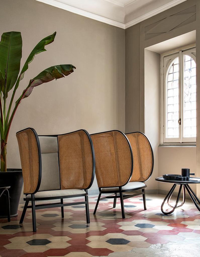 notre s lection de fauteuils oreilles elle d coration. Black Bedroom Furniture Sets. Home Design Ideas