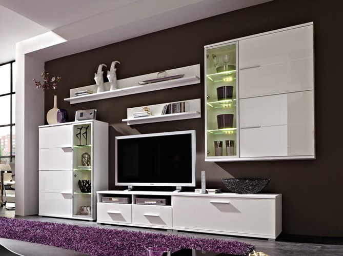le meuble tv fait sa star elle d coration. Black Bedroom Furniture Sets. Home Design Ideas