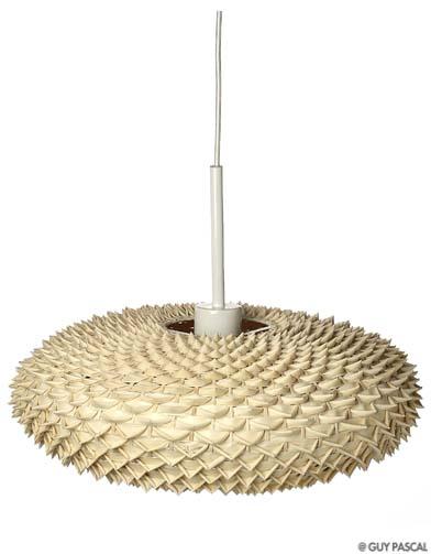 les luminaires ont la fibre naturelle elle d coration. Black Bedroom Furniture Sets. Home Design Ideas