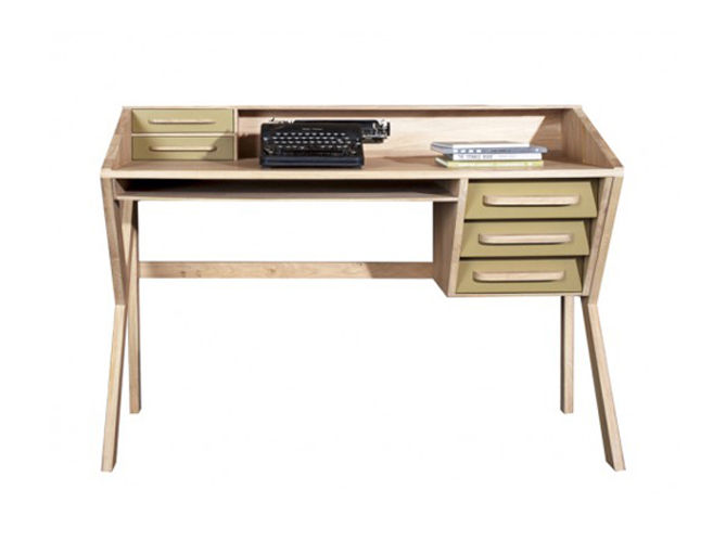 l 39 objet d co du jour le bureau monsieur marius elle d coration. Black Bedroom Furniture Sets. Home Design Ideas