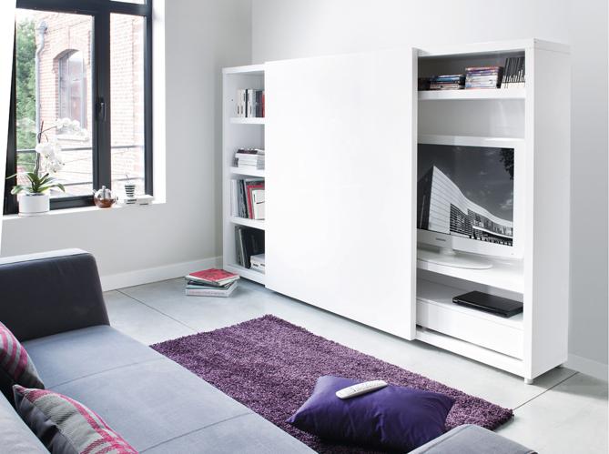 un beau meuble t l pour mon salon elle d coration. Black Bedroom Furniture Sets. Home Design Ideas