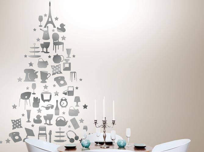 un faux sapin de no l original elle d coration. Black Bedroom Furniture Sets. Home Design Ideas