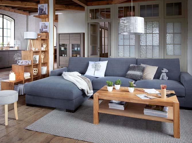 Trois styles d co pour mon salon elle d coration - Salon du bois nantes ...