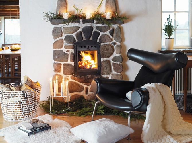 un salon cosy elle d coration. Black Bedroom Furniture Sets. Home Design Ideas