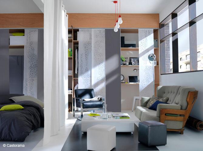 5 id es pour s parer vos pi ces sans cloisonner elle. Black Bedroom Furniture Sets. Home Design Ideas