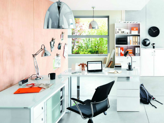 nos conseils pour bien clairer son bureau elle d coration. Black Bedroom Furniture Sets. Home Design Ideas