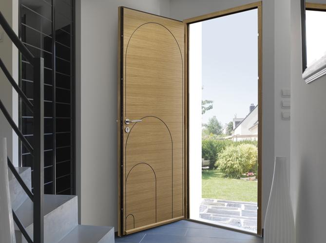 des portes d 39 entr e sympas elle d coration. Black Bedroom Furniture Sets. Home Design Ideas