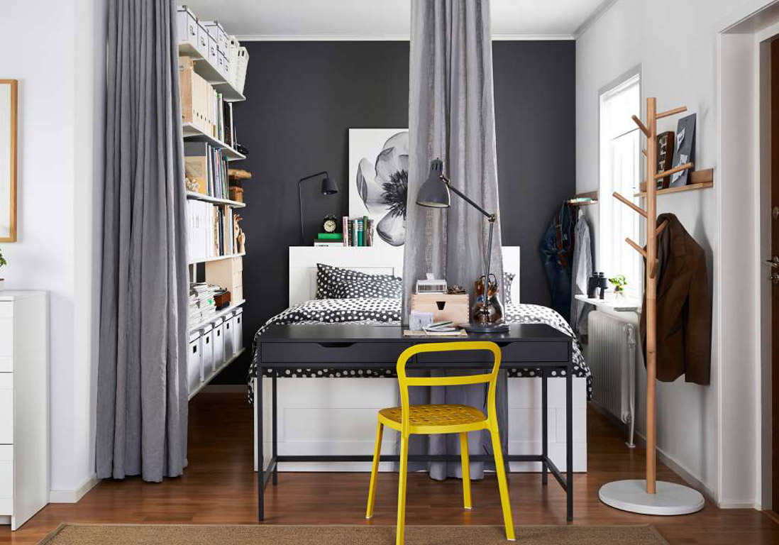 s parer sans cloisonner 10 astuces pour cr er des. Black Bedroom Furniture Sets. Home Design Ideas