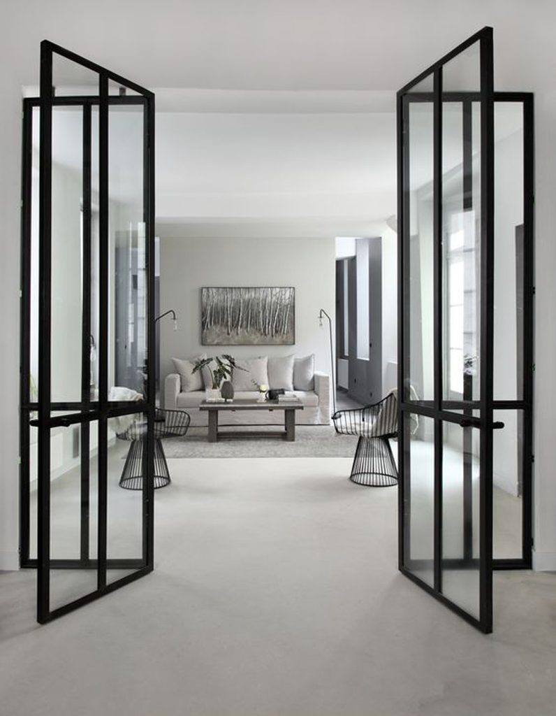 verri re int rieure la cloison transparente qui a tout pour plaire elle d coration. Black Bedroom Furniture Sets. Home Design Ideas