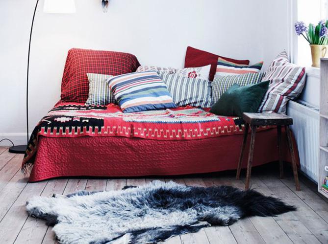 5 conseils pour bien int grer le rouge dans sa d co elle d coration. Black Bedroom Furniture Sets. Home Design Ideas