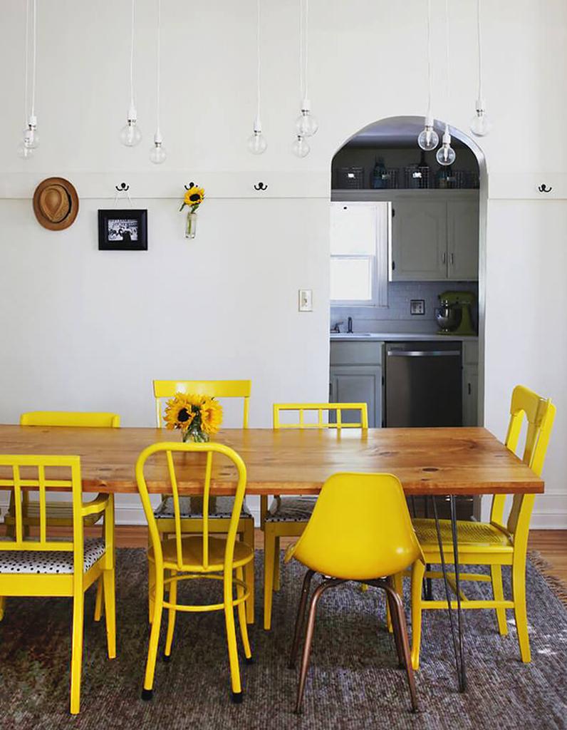 chaise d pareill es d couvrez comment d pareiller vos chaises elle d coration. Black Bedroom Furniture Sets. Home Design Ideas