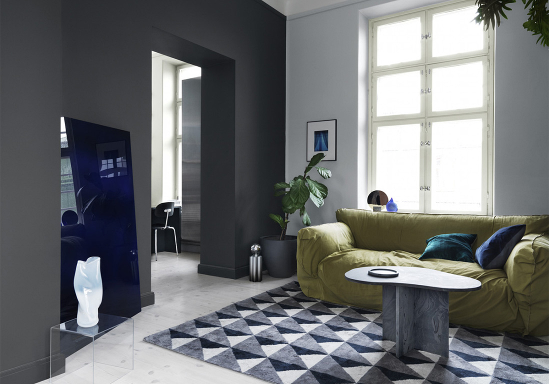 les r gles d 39 or d 39 une d coration noire r ussie elle d coration. Black Bedroom Furniture Sets. Home Design Ideas
