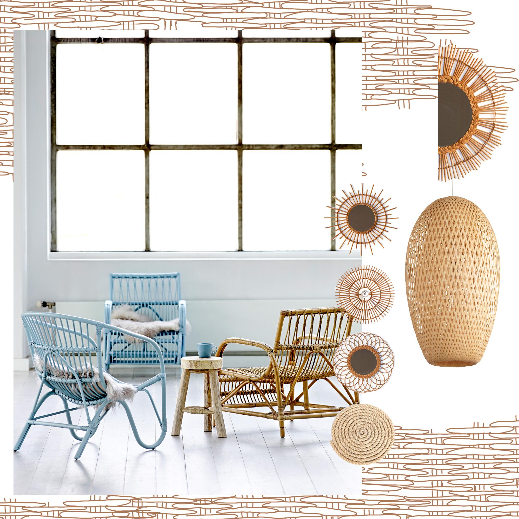 Meuble en osier nettoyer le bambou with meuble en osier for Meuble osier