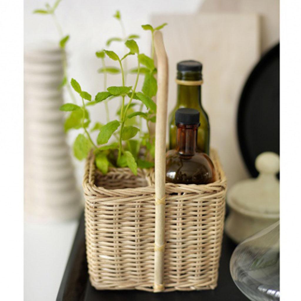 Diff rence osier rotin bambou rotin osier farandole de meubles naturels - Panier en osier ikea ...