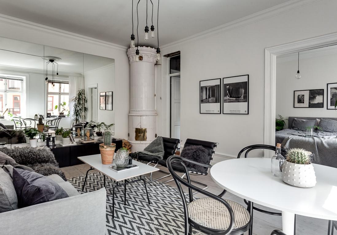 l 39 astuce toute simple pour avoir un appart qui parait deux fois plus grand elle d coration. Black Bedroom Furniture Sets. Home Design Ideas