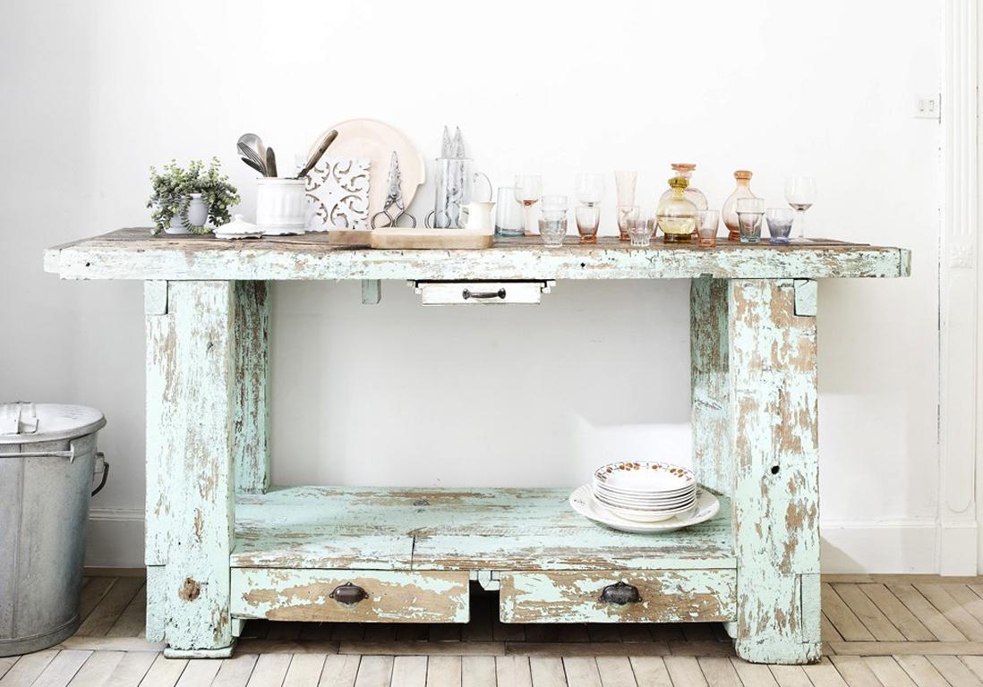 le grand retour de l 39 tabli elle d coration. Black Bedroom Furniture Sets. Home Design Ideas