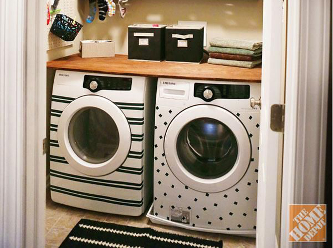 bien int grer sa machine laver dans son int rieur elle d coration. Black Bedroom Furniture Sets. Home Design Ideas