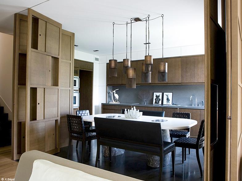 S paration d espace 10 solutions imagin es par des - Separation cuisine salon vitree ...