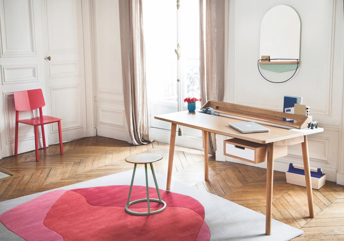 travailler chez soi toutes les astuces d co pour un bureau agr able elle d coration. Black Bedroom Furniture Sets. Home Design Ideas
