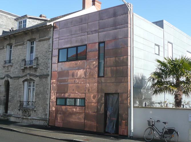 Maison en cuivre elle d coration for Deco maison pratique