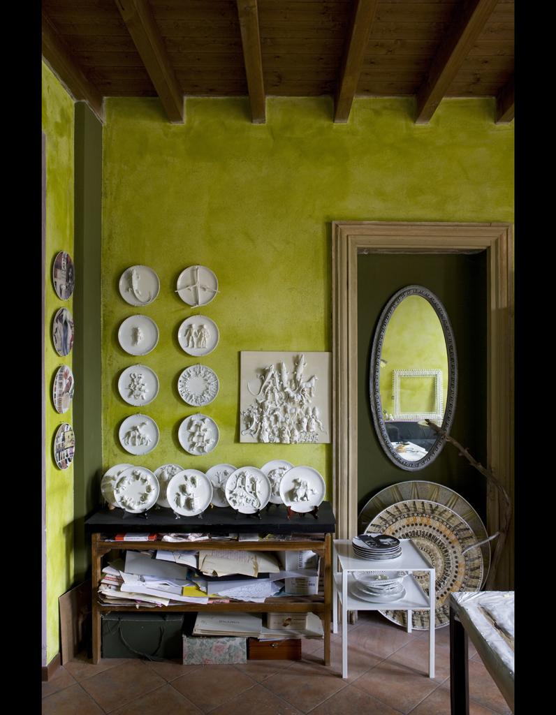 30 id es pour relooker vos murs elle d coration - Deco italienne maison ...