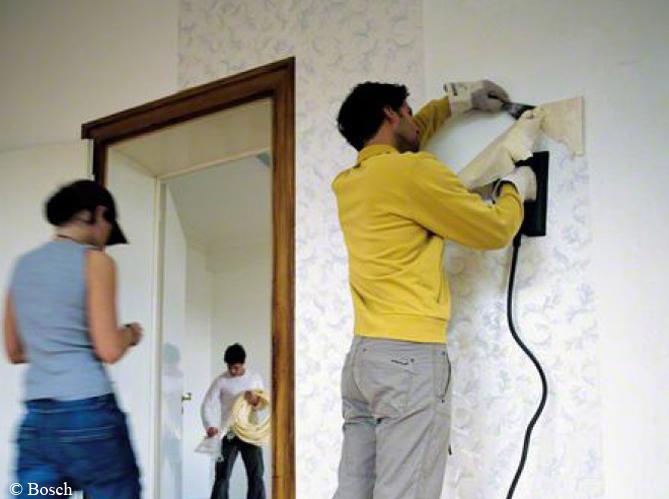comment d coller son papier peint elle d coration. Black Bedroom Furniture Sets. Home Design Ideas