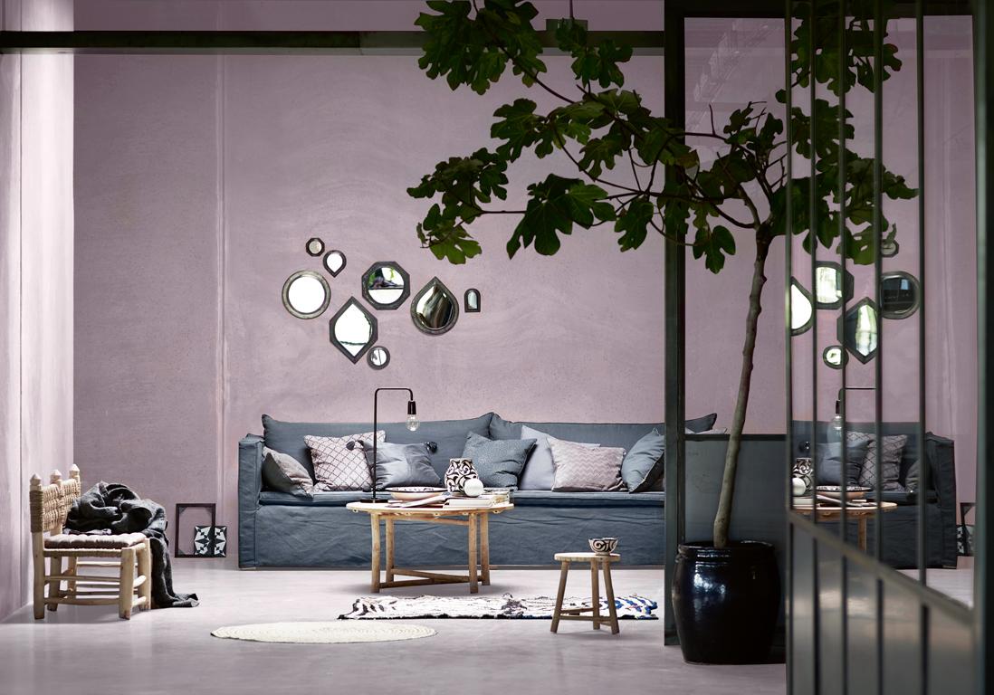 mur color nos inspirations pour un int rieur haut en. Black Bedroom Furniture Sets. Home Design Ideas