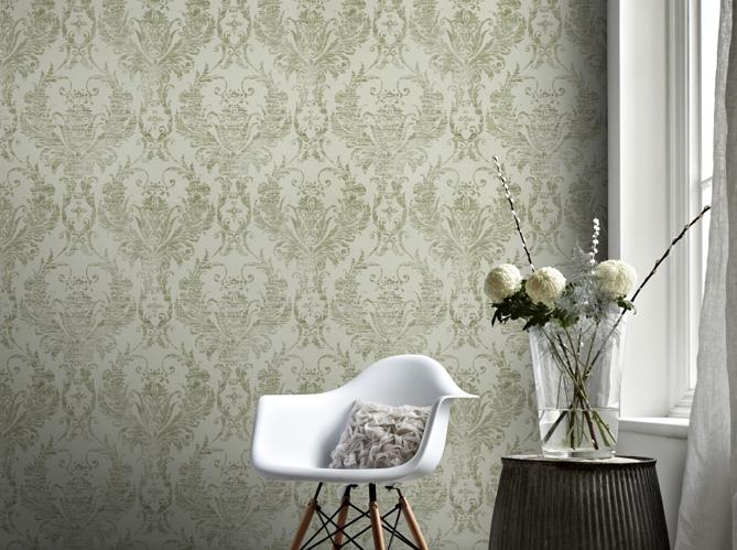 De la texture et du relief au mur elle d coration - Peut on repeindre sur de la tapisserie ...