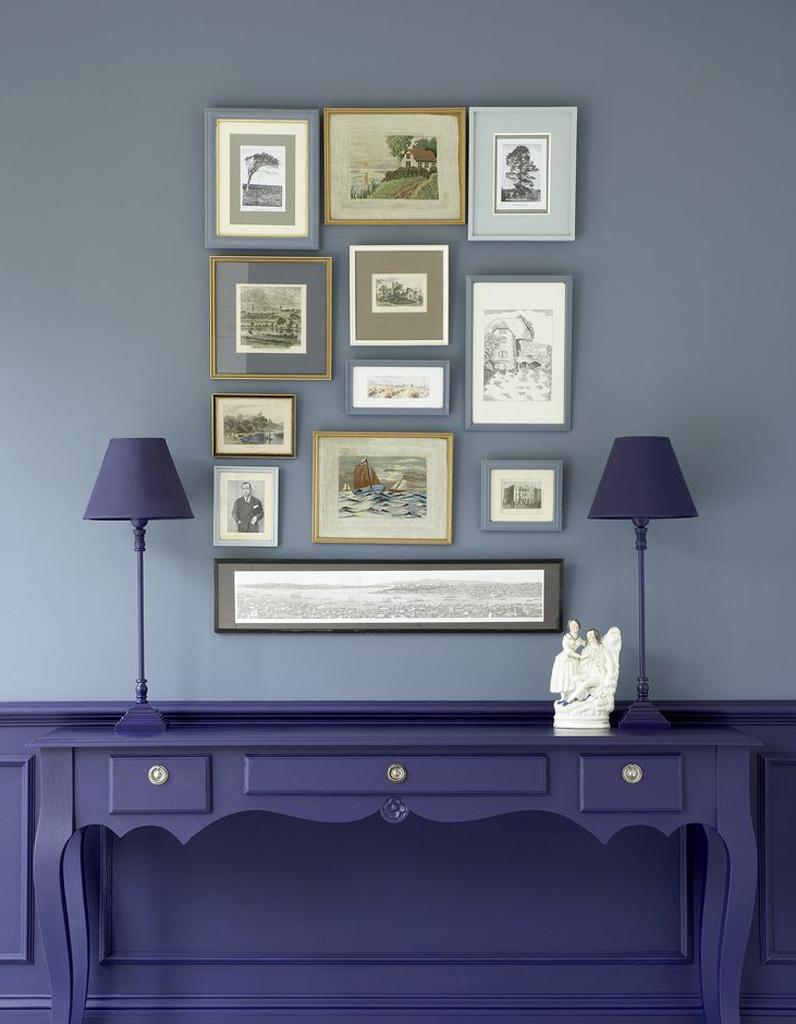 peinture deux couleurs id es de. Black Bedroom Furniture Sets. Home Design Ideas