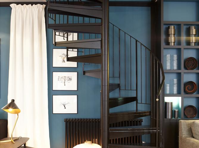 Peinture les couleurs tendance en 2013 elle d coration for Peinture murale tendance vert bleu