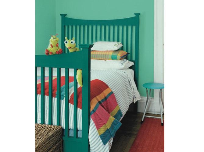 Quelles couleurs associer avec le vert elle d coration - Chambre mur vert ...