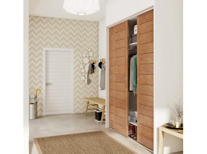 O acheter de jolies portes de placard elle d coration for Porte placard bois