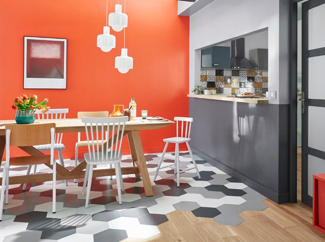 deux styles pour un m me sol elle d coration. Black Bedroom Furniture Sets. Home Design Ideas