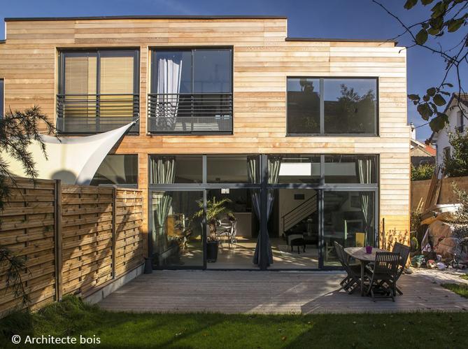 cr er une extension en bois votre maison elle d coration. Black Bedroom Furniture Sets. Home Design Ideas
