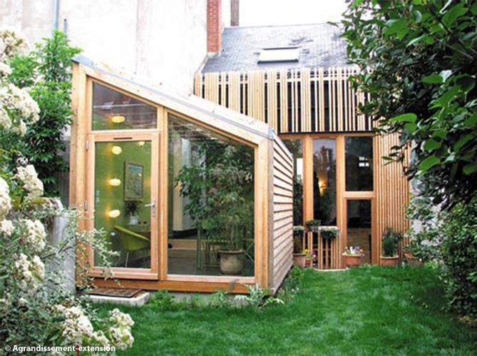 5 id es d extension en bois pour ma maison elle d coration for Agrandir ma maison