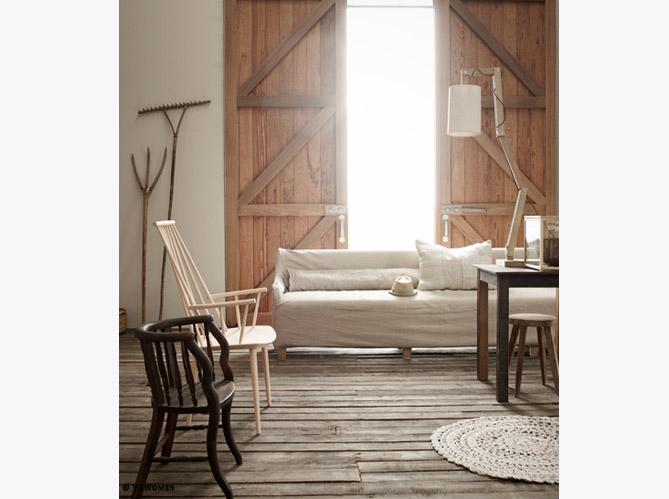 comment r nover une grange avec succ s elle d coration. Black Bedroom Furniture Sets. Home Design Ideas