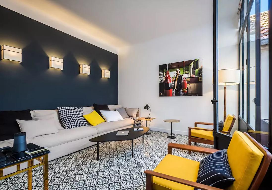 appartement la dco contemporaine biarritz - Maison Moderne Biarritz