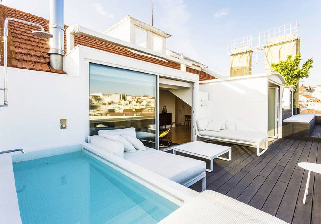 Airbnb lisbonne 25 appartements lofts et penthouses de for Appartement avec piscine