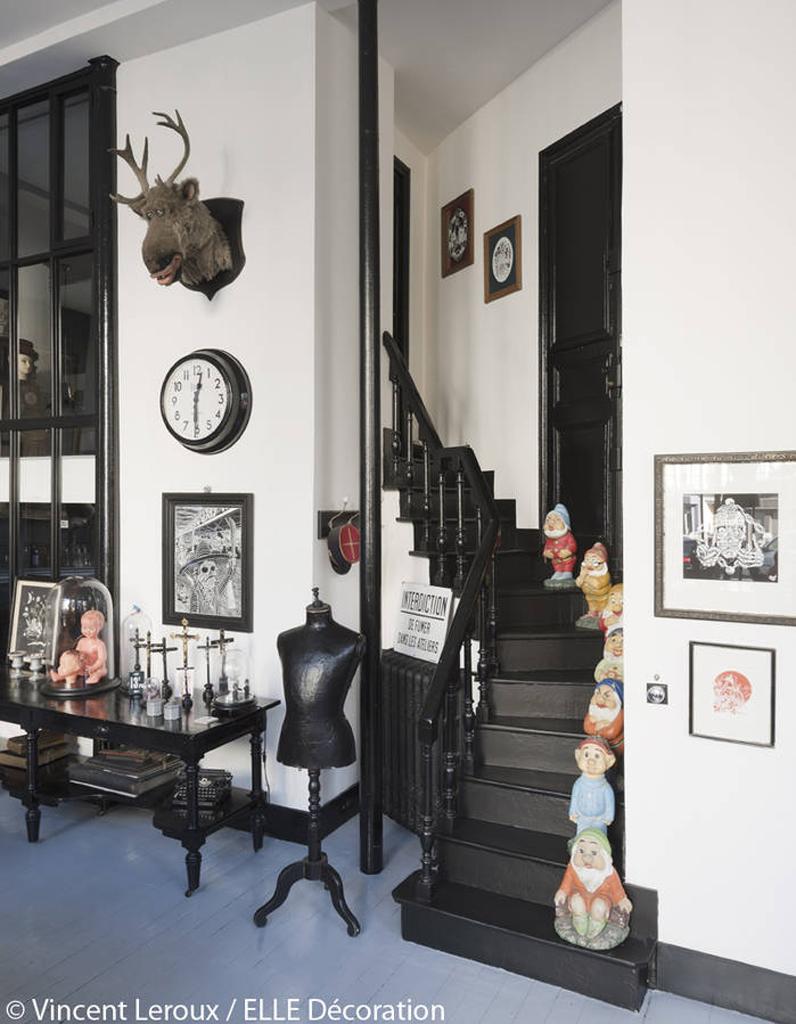 conseils d co ines de la fressange elle d coration. Black Bedroom Furniture Sets. Home Design Ideas