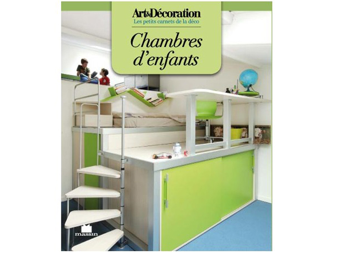 livre art d coration 39 chambres d enfants 39 elle d coration. Black Bedroom Furniture Sets. Home Design Ideas