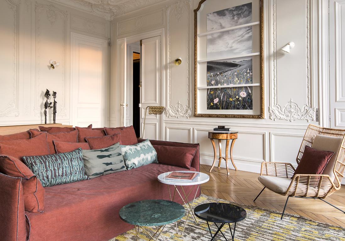 appartement haussmannien comment d corer un appartement. Black Bedroom Furniture Sets. Home Design Ideas