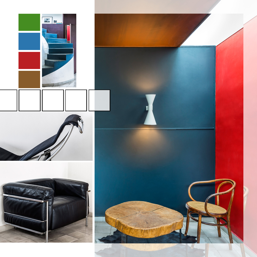 Visite tr s priv e de l 39 appartement atelier parisien de le for Le corbusier meuble
