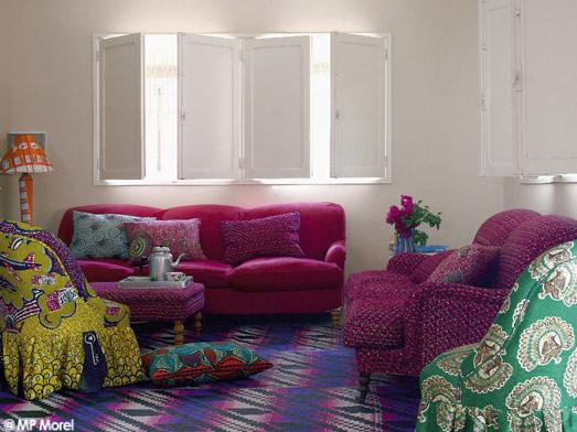 au s n gal une maison couleur boubou elle d coration. Black Bedroom Furniture Sets. Home Design Ideas
