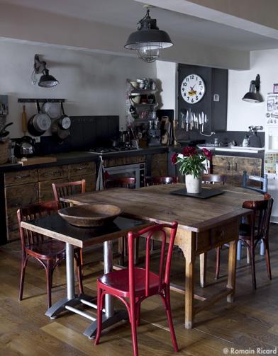 l 39 esprit loft mode d 39 emploi elle d coration. Black Bedroom Furniture Sets. Home Design Ideas