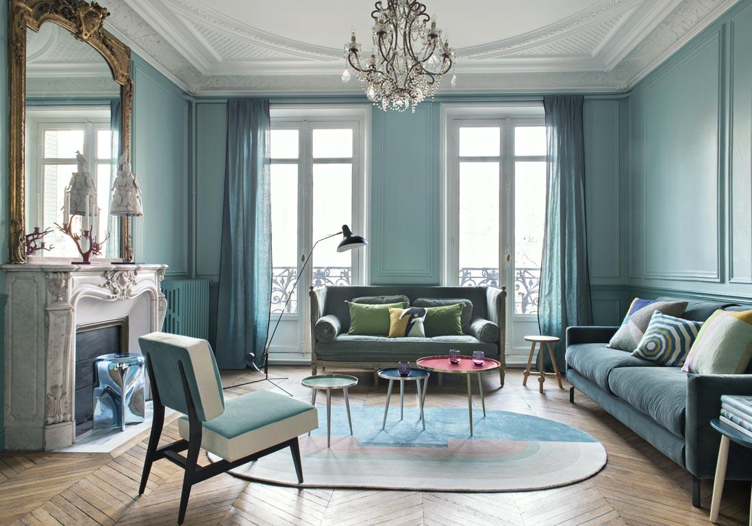 Awesome Decoration Appartement Haussmannien Contemporary - ansomone ...