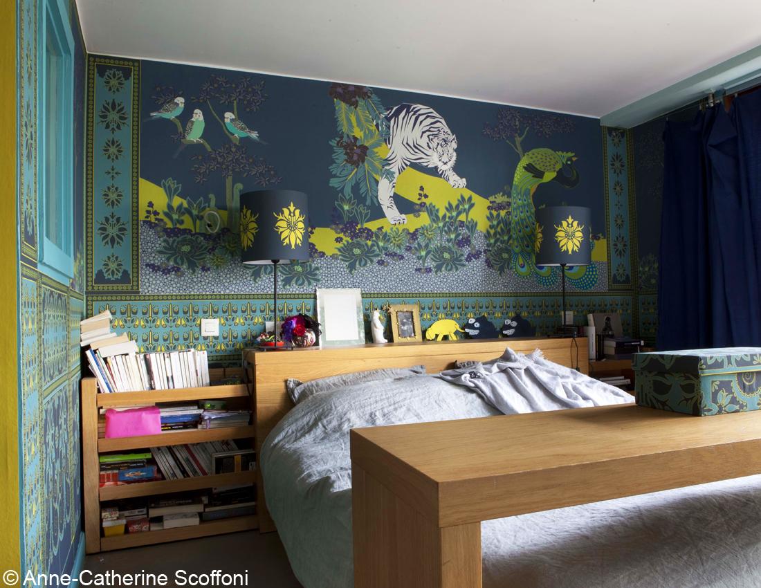 Relooking d un atelier d artiste elle d coration for Relooking chambre parents