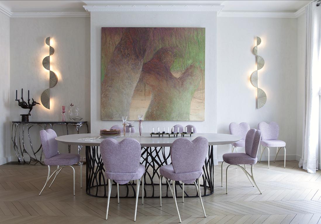 un 250 m la d co spectaculaire elle d coration. Black Bedroom Furniture Sets. Home Design Ideas