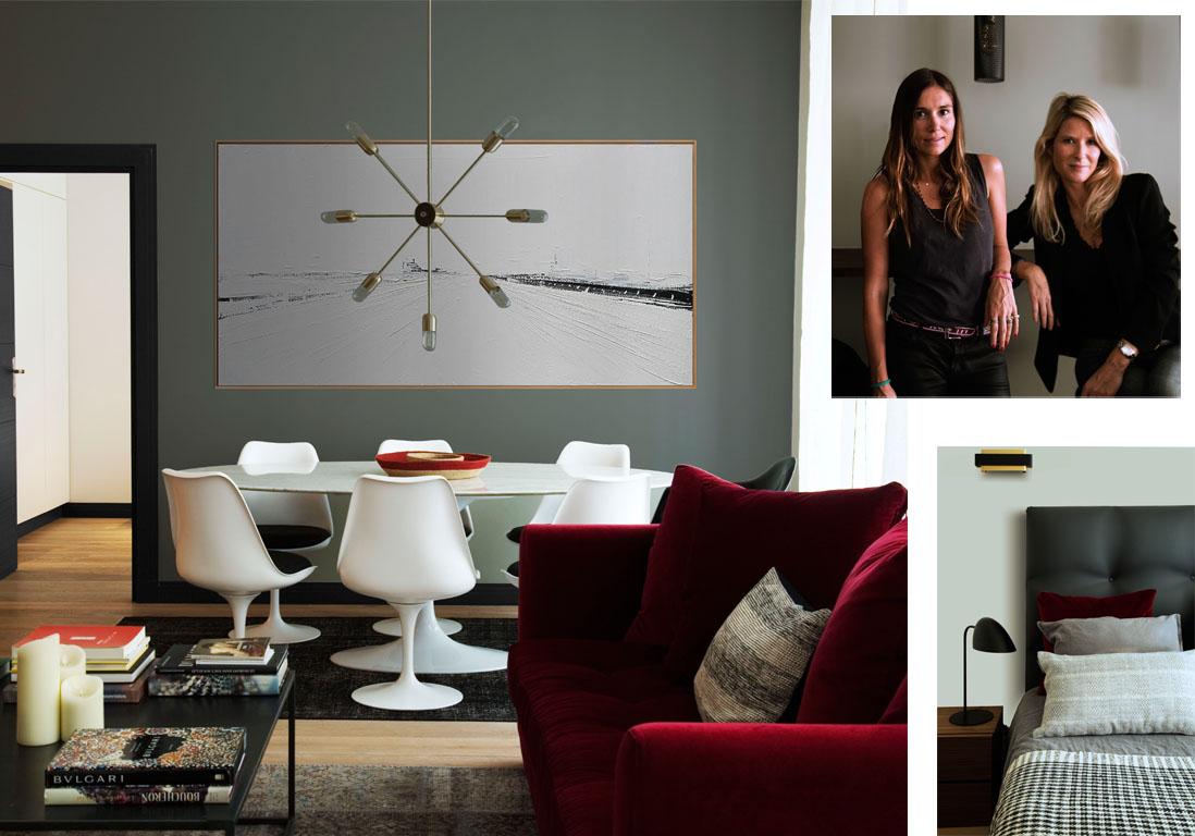 Un appartement chic parisien r nov r novations d for Deco appartement rose