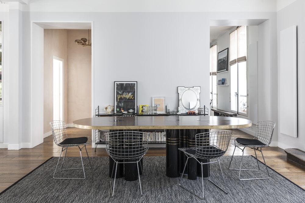 un appartement terriblement parisien elle d coration. Black Bedroom Furniture Sets. Home Design Ideas