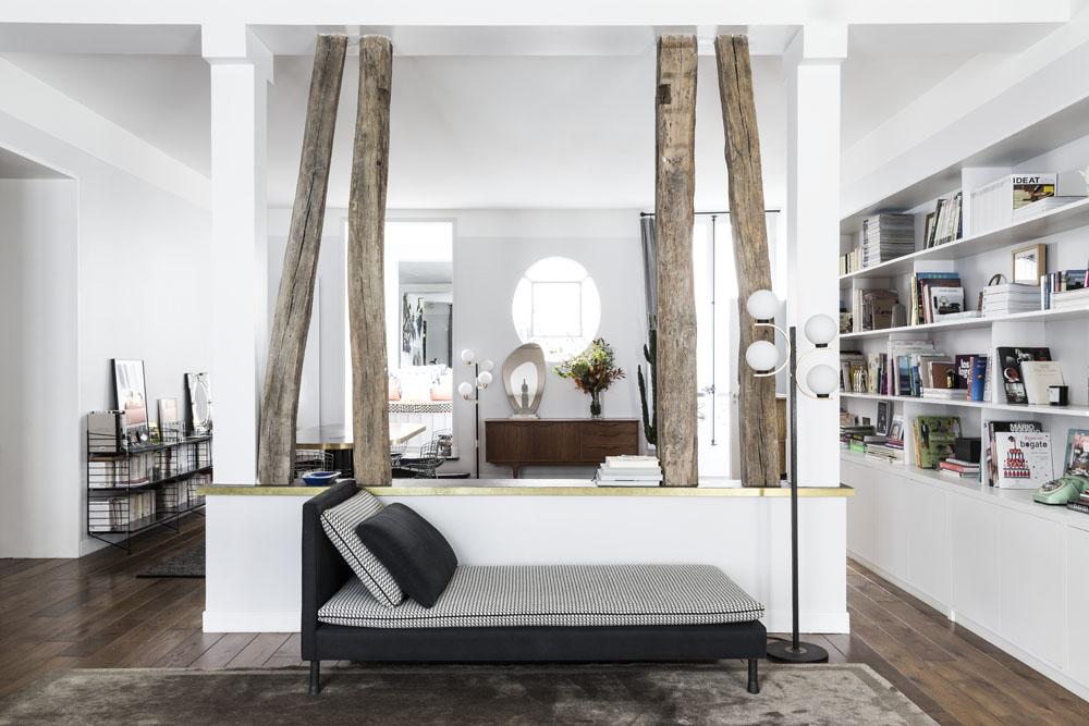 Un appartement terriblement parisien - Elle Décoration